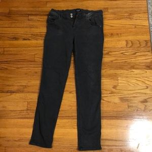 HUDSON Collin Skinny Jean in dark gray (size 30)